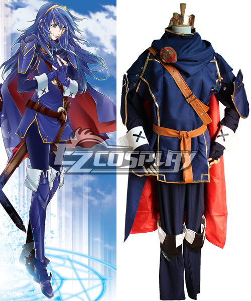Fire Emblem Awakening Marth Lucina Cosplay Costume - NEW