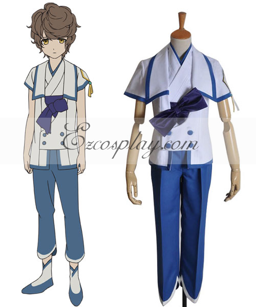 From the New World Mamoru Boy Uniform Cosplay Costume None