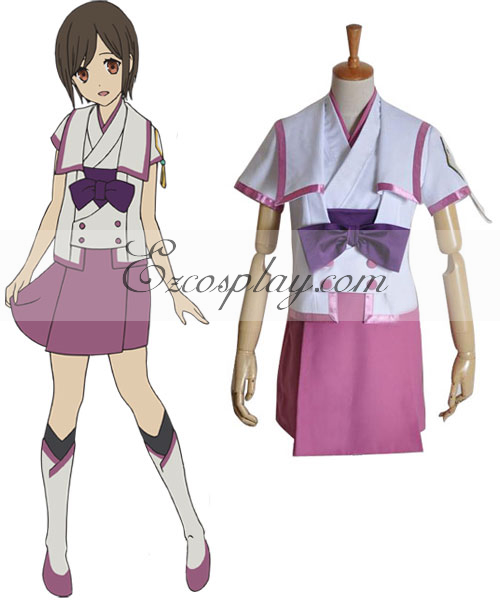 From the New World Saki Uniform Cosplay Costume