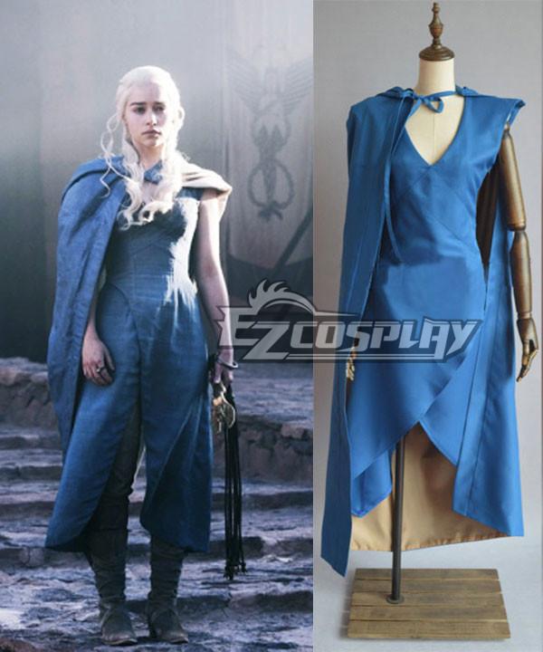 Game of Thrones Daenerys Targaryen Mother of Dragons Dress Cosplay Costume