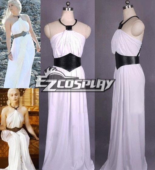 Game of Thrones Daenerys Targaryen Dress Cosplay Costume