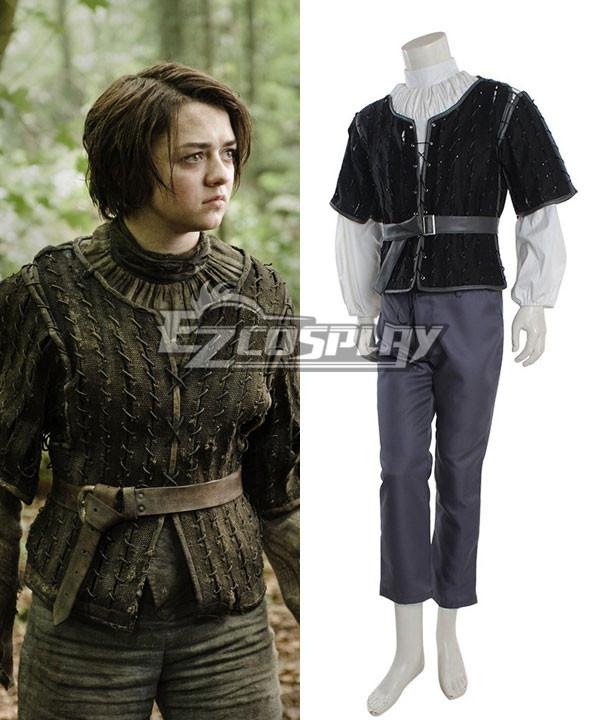 Game of thrones Arya Stark Cosplay Costume None