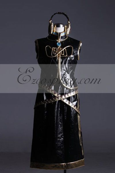 Anime Costumes ZBC0033 Vocaloid Megurine Luka Cosplay Costume-Advanced Custom