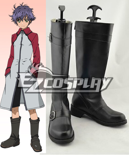 Hakkenden Eight Dogs of the East Shino Inuzuka Cospaly Shoes COSS0095