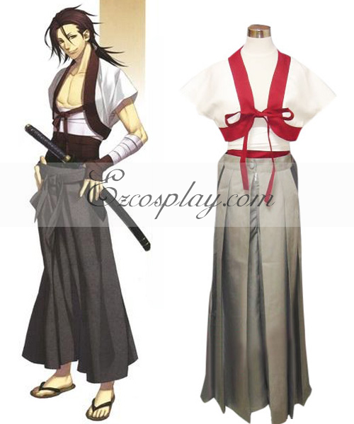 Hakuouki Sanosuke Harada Normal Cosplay Costume