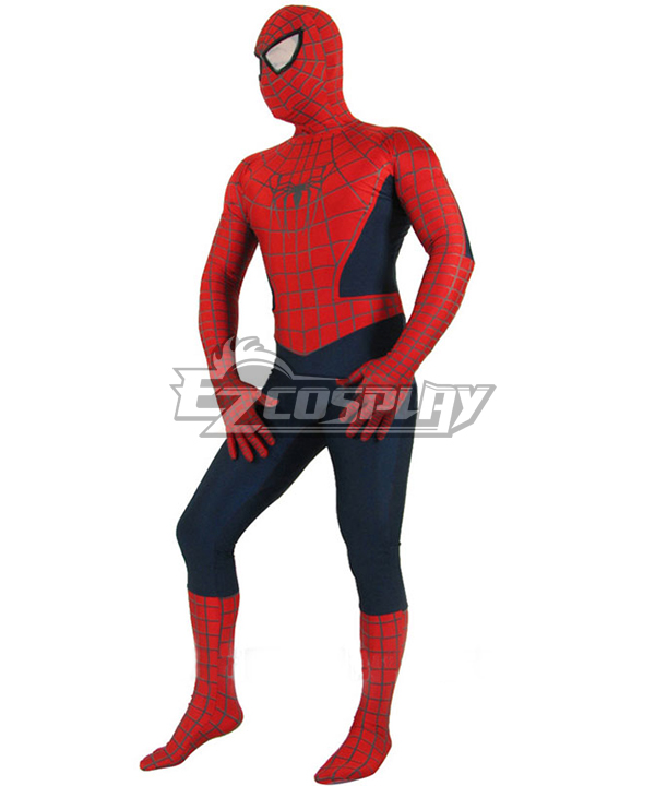 Halloween Spider man Jumpsuit Cosplay Costume  None