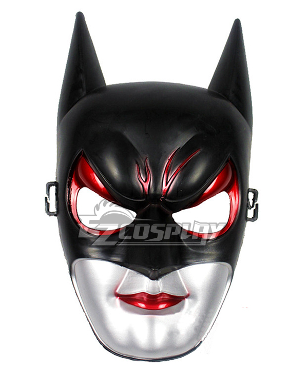 Halloween Bat Man Cosplay Mask None