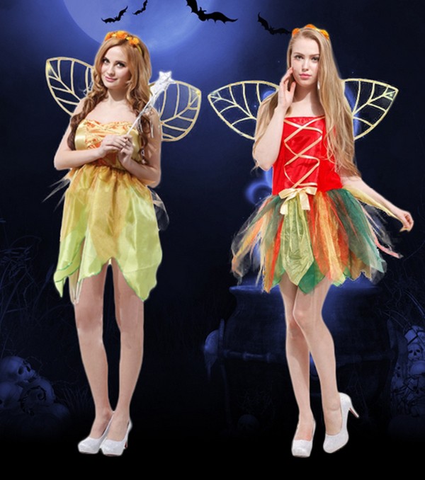 Halloween Adult costume Fairy Cosplay Dress