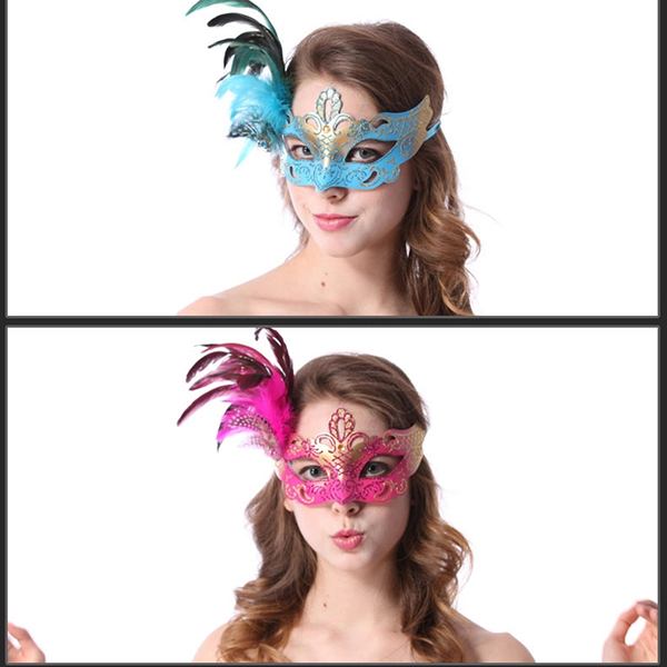 Halloween Costume Party Venice Princess Cosplay Mask None
