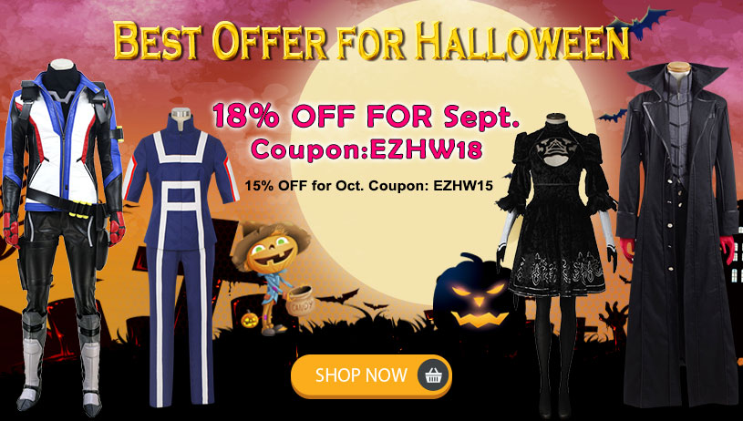 Halloween Presale Sale-Up to 18% OFF