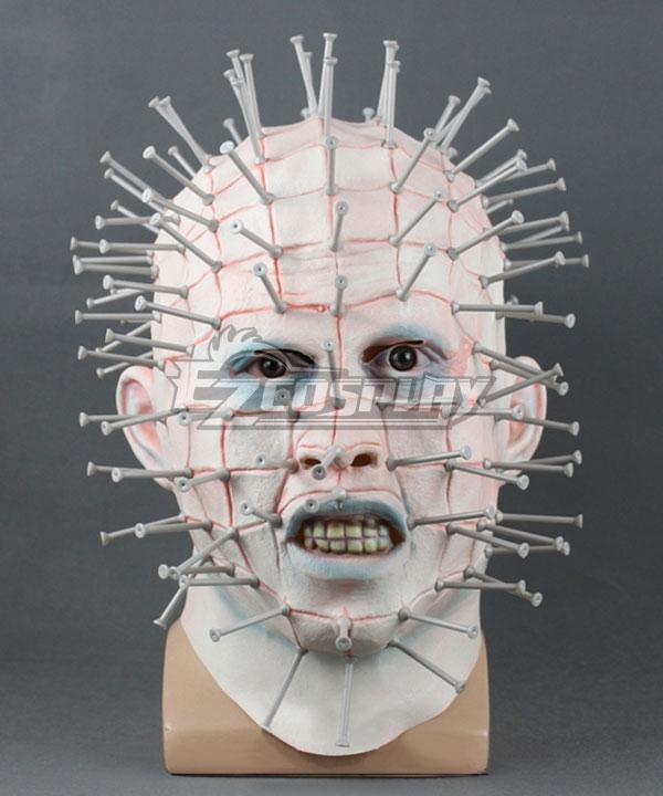 Hellraiser Pinhead Halloween Mask Cosplay Accessory Prop None