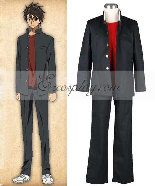 High School of the Dead Komuro Takashi School Uniform Cosplay Costume - Only Jacket None