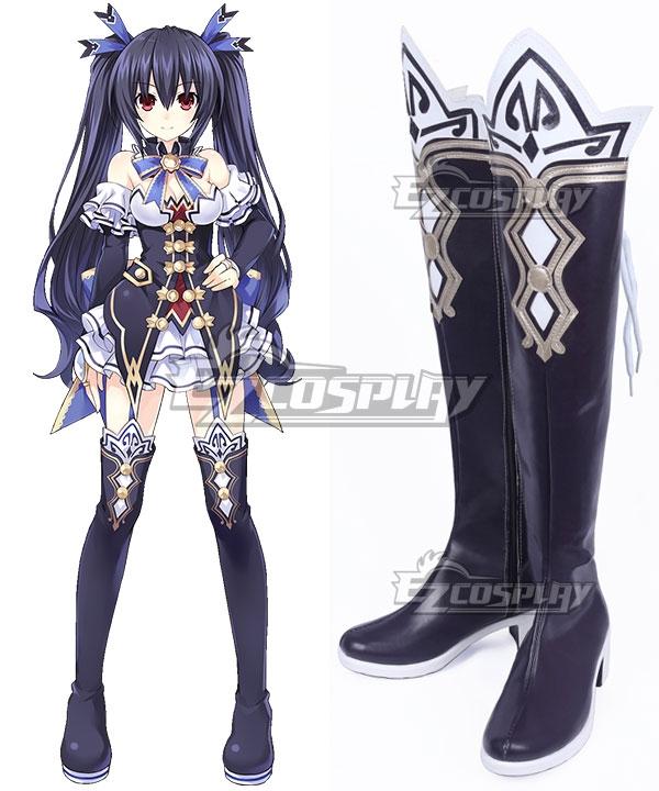 Hyperdimension Neptunia Noire Purple Shoes Cosplay Boots COSS1429