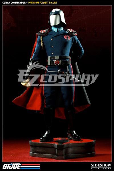 G.I. Joe series commander Cobra cosplay costumes