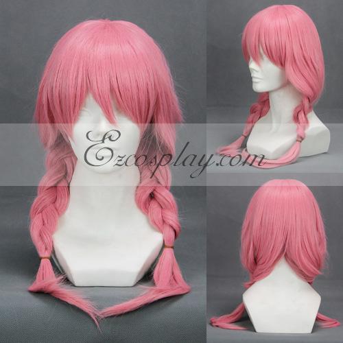 Inu x Boku SS Roromiya Karuta Pink Cosplay Wig-234B