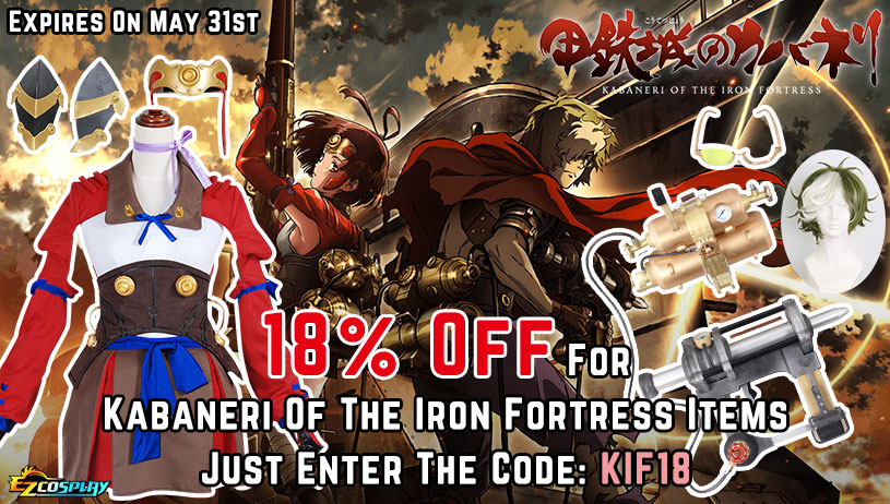 Kabaneri of the Iron Fortress costume  on Sale
