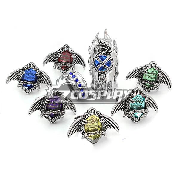 Katekyo Hitman Reborn! Vongola Evolution Rings