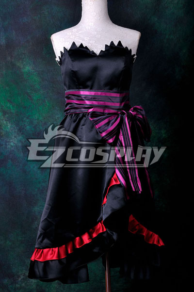 Anime Costumes ZBC0041 VOCALOID Project Diva F Luka Amour Cosplay Costume Deluxe-KH1