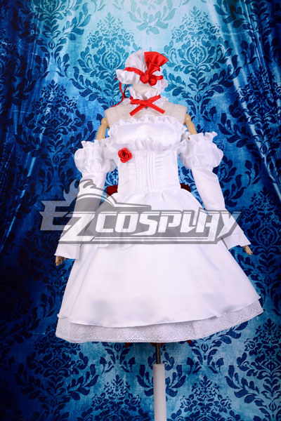 Touhou Project Remilia Gk Lolita Cosplay Costume Deluxe-KH16