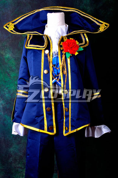 VOCALOID Project Diva F kaito Requiem Cosplay Costume Delxue-KH6