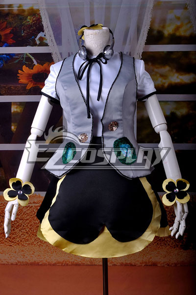 VOCALOID Project Diva F Pansy Miku Cosplay Costume Delxue-KH7