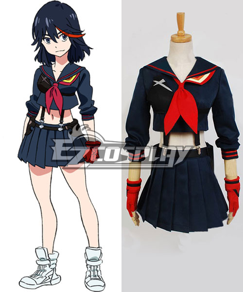 Kill la Kill Ryuko Matoi Normal Version Cosplay Costume