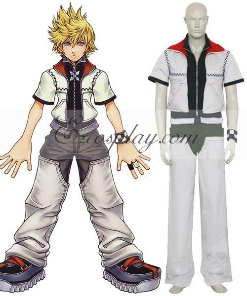 Kingdom Hearts 2 Roxas Cosplay Costume  EKH0010