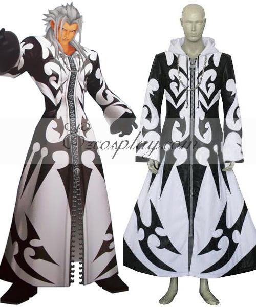 Kingdom Hearts 2 Xemnas Cosplay Costume