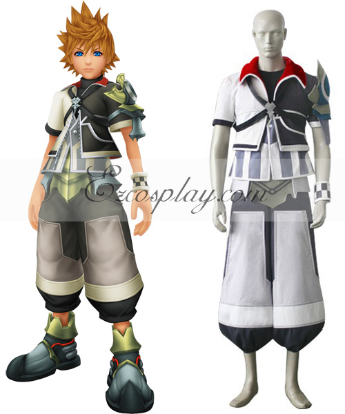 Kingdom Hearts Birth By Sleep Ventus Cosplay Costume