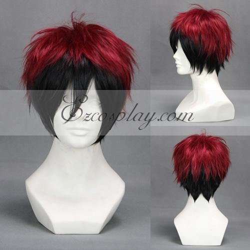 Kuroko's Basketball Kagami Taiga Black&Red Cosplay Wig-301B