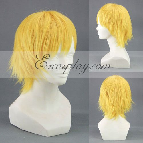 Kuroko's Basketball Kise Ryota Yellow Cosplay Wig-301D
