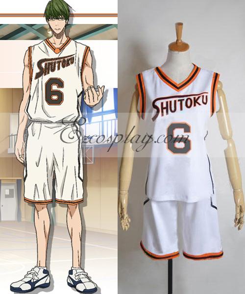 Kuroko's Basketball SHUTOKU 6 Midorima Shintaro Cosplay Costume
