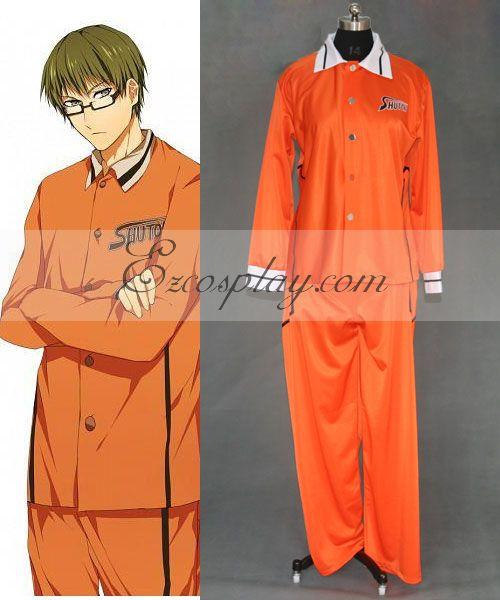Kuroko's Basketball shutoku uniform cosplay costume