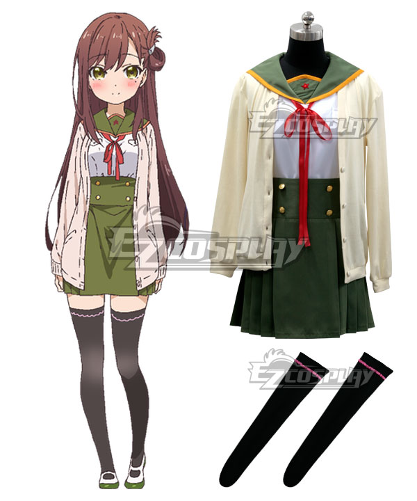 School-Live! Gakko Gurashi! Living at School! Yuri Wakasa Wakasa Yuri Cosplay Costume
