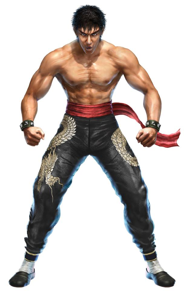 Law from Tekken 6 Cospaly Costume