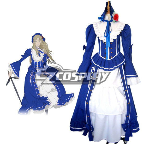 Le Chevalier D'Eon Lia de Beaumont Cosplay Costumed