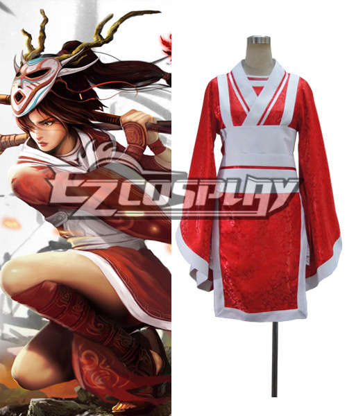League of Legends The Fist of Shadow Akali Cosplay Costume None
