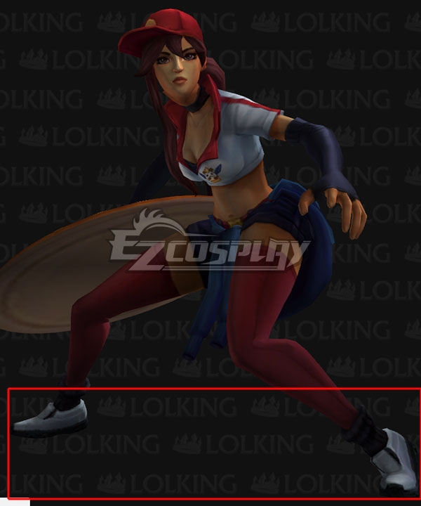 League Of Legends Lol Pizza Delivery Sivir White Cosplay