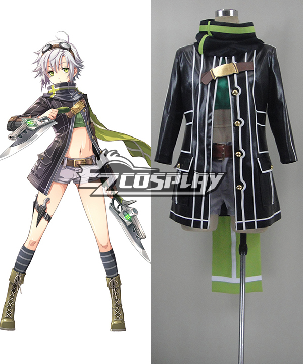 The Legend of Heroes: Sen No Kiseki Trails of Cold Steel Fei Claussell Battle Cosplay Costume