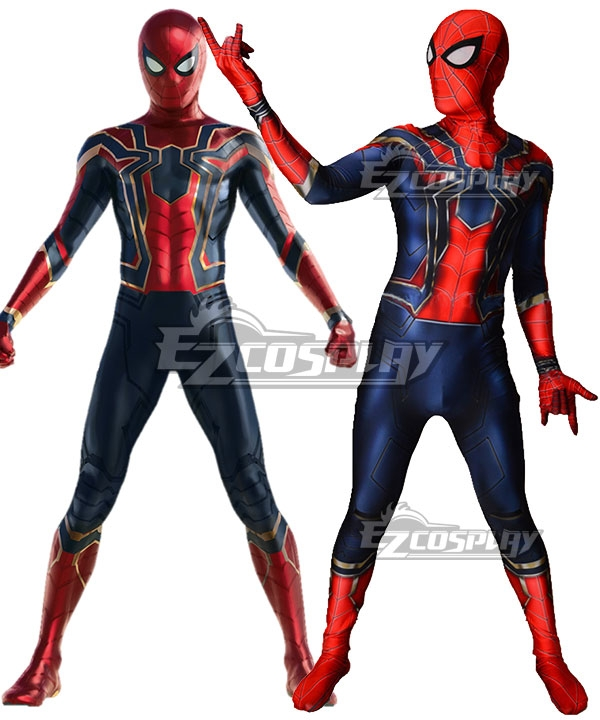 Marvel Avengers3: Infinity War Spider-Man Spider Man Peter Parker Cosplay Costume None