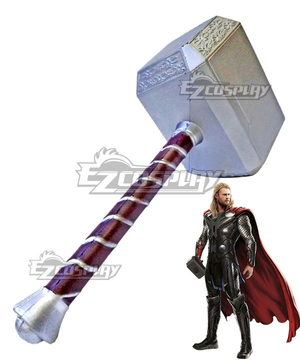 Marvel's The Avengers Thor Odinson Hammer Cosplay Weapon Prop None