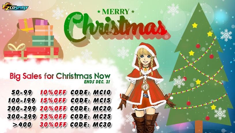 Merry Christmas 2018 Big Sales