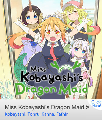 Miss Kobayashi's Dragon Maid Cosplay Costumes On Sale