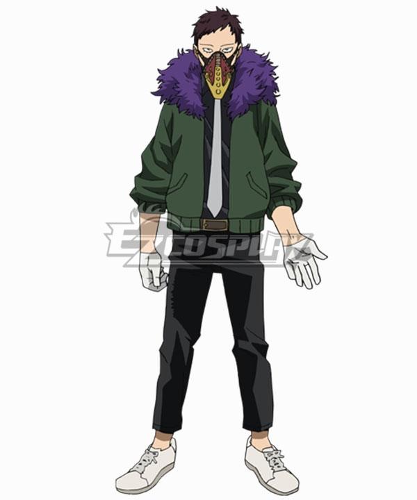 My Hero Academia Boku No Hero Akademia Anime Kai Chisaki Overhaul Cosplay Costume