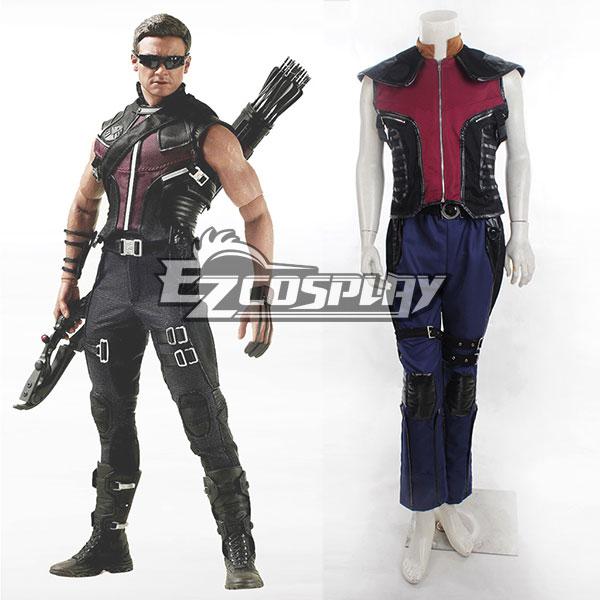 Image of The Avengers Clint Barton Hawkeye Cosplay CostumeStandard Version
