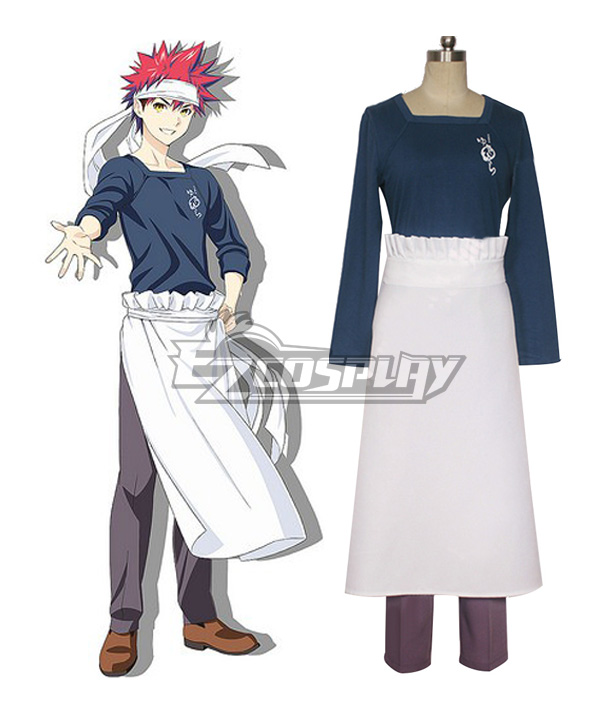 Image of Food Wars Shokugeki no Soma Soma of the Shokugeki Yukihira Souma Cosplay Costume
