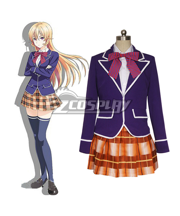 Image of Food Wars Shokugeki no Soma Soma of the Shokugeki Nakiri Erina Cosplay Costume