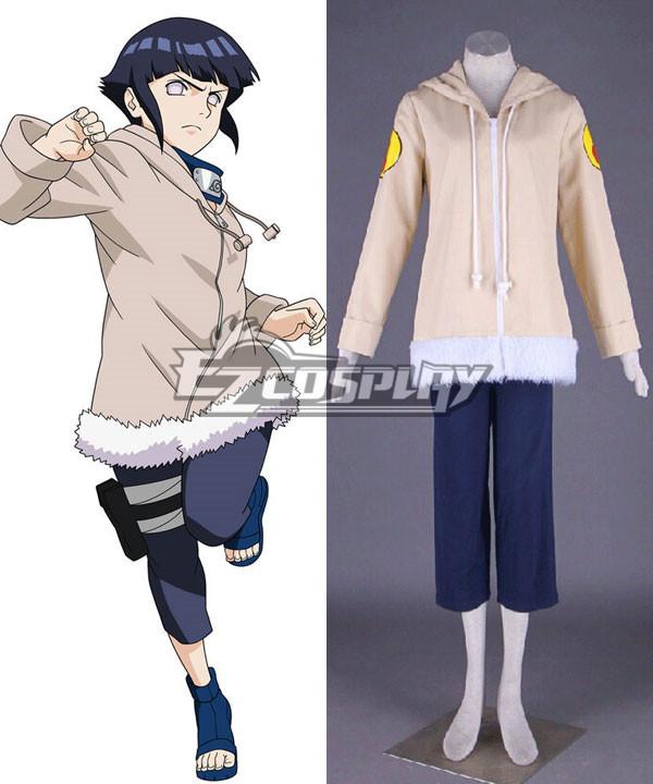 Naruto Hinata Hyuga 1st Cosplay Costume