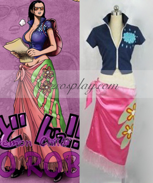 One Piece Nico Robin After 2Y Cosplay Costume None