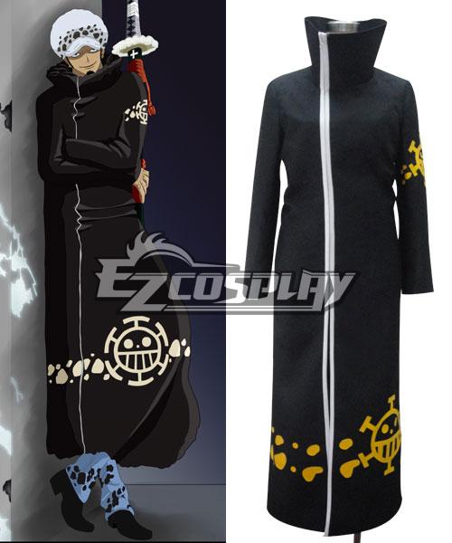 One Piece Trafalgar D Water Law 2Y Cosplay Costume